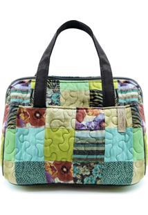 Necessaire Mary Clover Em Patchwork Original - Multicolorido - Feminino - Dafiti