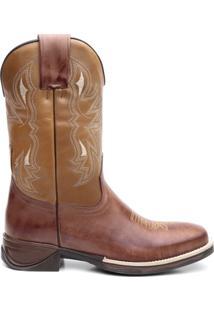 Bota Texana Osso Escuro Com Texas Floather 56297 - Masculino