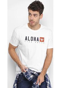 Camiseta Hang Loose Silk Aloha Masculina - Masculino