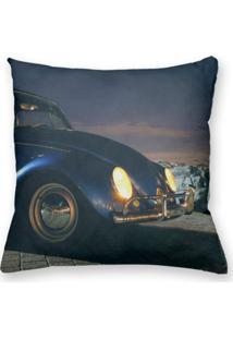 Capa De Almofada Decorativa Own Fusca Azul 45X45 - Somente Capa