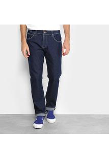 Calça Jeans Reta Colcci Masculina - Masculino-Azul