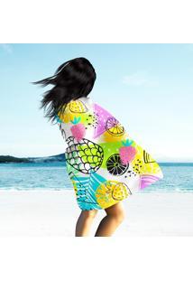 Toalha De Praia / Banho Fashion Tropics Funny