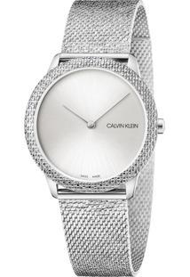 Relógio Calvin Klein Feminino Aço - K3M22T26