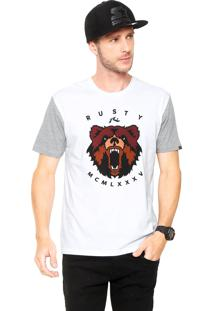 Camiseta Rusty Bears Branca