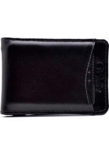 Carteira Clube Do Sapato De Franca Premium Porta Cartões Completa Preto