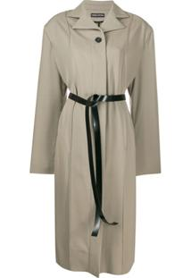 Kwaidan Editions Trench Coat Oversized - Neutro