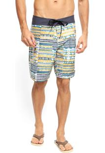 Bermuda Água Volcom Chipper Multicolorida