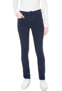 Calça Sarja Calvin Klein Jeans Skinny Five Pockets Azul-Marinho