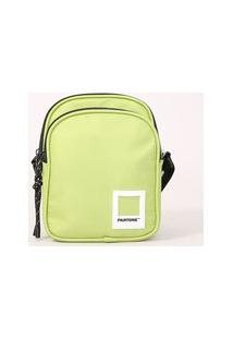 Bolsa Shoulder Bag Pantone Verde