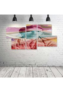 Quadro Decorativo - Frida-Retro - Composto De 5 Quadros - Multicolorido - Dafiti