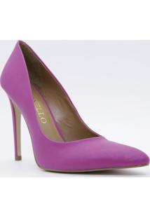 Scarpin Acamurçado - Pink & Bege - Salto: 11Cmcecconello