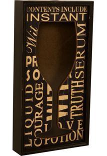 Quadro Porta-Rolhas Decorativo De Parede Wine