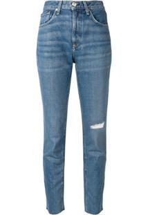 Rag & Bone Calça Jeans Slim - Azul