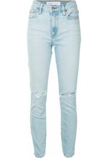 Nobody Denim Calça Jeans Skinny Cult Cintura Alta - Azul