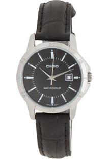 Relógio Feminino Casio Ltpv004L1Audf - Unissex-Preto