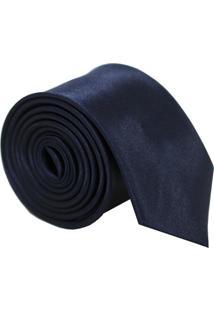 Gravata Unyforme Slim Azul Marinho
