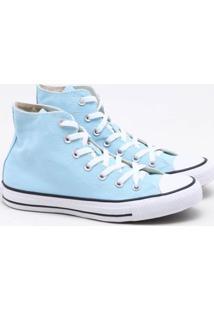 Tênis All Star Converse Chuck Taylor Cano Alto Azul Claro Feminino