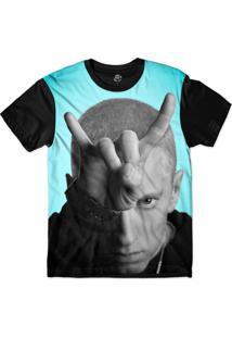 Camiseta Bsc Eminem Sublimada Preto