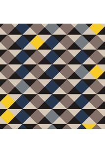Tapete Mosaico Triangulos Color Casa Dona Antiderrapante 100 X 140 Cm 100% Marca Própria
