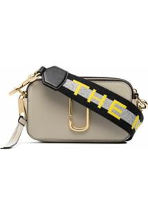 The Marc Jacobs Bolsa Transversal Snapshot - Neutro