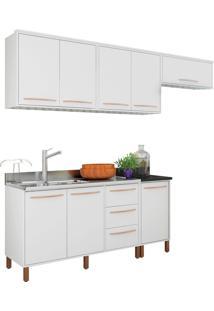Cozinha Compacta Pistache Branco Móveis Albatroz