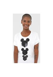 Blusa Cativa Disney Mickey Off-White