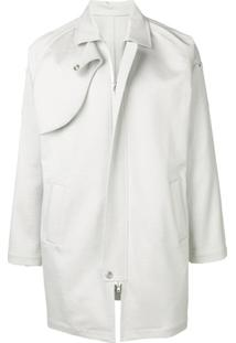 Mackintosh 0004 Trench Coat Worker - Branco