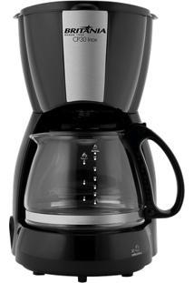 Cafeteira Elétrica Britânia Com Jarra De Vidro Para Até 30 Xícaras Cp30 Inox 220V