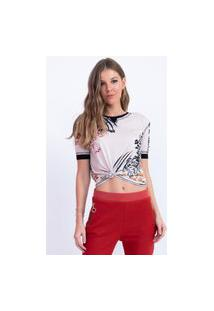 Tshirt Recortes Casual Bana Bana