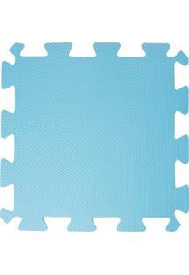 Tapete Tatame Loja Da Maria Eva 50X50X1Cm 10Mm Azul