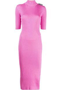 Balenciaga Vestido Slim - Rosa