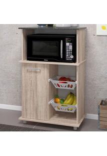 Armário De Cozinha Malu 1 Porta Fruteira Rústico/Arezzo - Nicioli