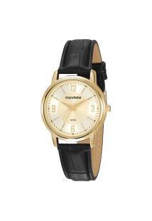 Relógio Analógico Mondaine Feminino - 83475Lpmvdh2 Preto