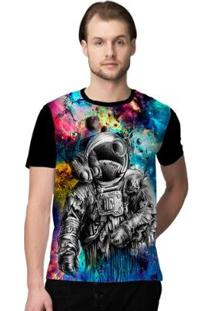 Camiseta Stompy Crazy Space Masculina - Masculino