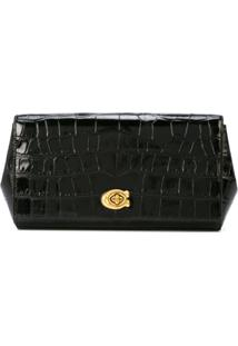 Coach Clutch Alexa Turnlock - Preto
