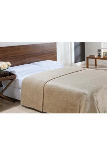 Cobertor Microfibra Toque De Seda King 2,20X2,40M - Niazitex - Caqui