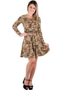 82078fec5d Vestido Decote V Onca feminino