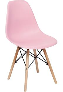 Cadeira Impã©Rio Brazil Charles Eames Eiffel - Incolor/Rosa - Dafiti