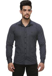 Camisa Zaiko Black Friday Listrada Chumbo Ml