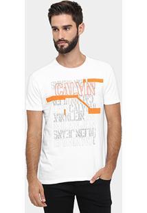 Camiseta Calvin Klein Print Color - Masculino