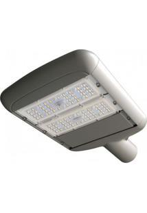 Luminária Para Poste 2 Placas Led 80W Taschibra 5000K Luz Branca