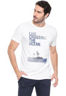 Camiseta Forum Lettering Branca