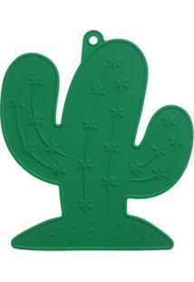 Pegador De Panelas Cactus- Verde Escuro- 1X21,5X10Cmquadrifoglio