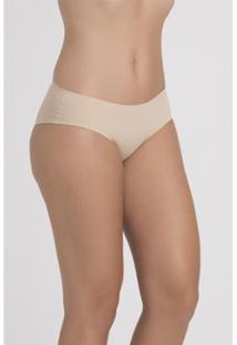 Calcinha Calça Recco Laser Cut - Feminino-Nude