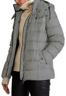 Jaqueta Polo Ralph Lauren Puffer Estampada Cinza - Kanui