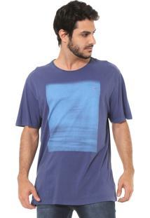 Camiseta Aramis Estampada Roxo