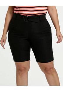 Bermuda Feminina Ciclista Plus Size Gups