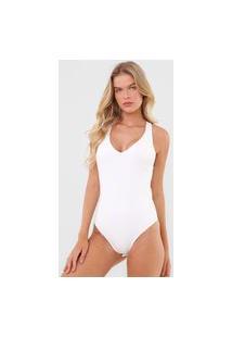 Body Calvin Klein Jeans Argola Branco