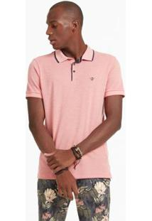 Polo Mm Docthos - Masculino-Rosa