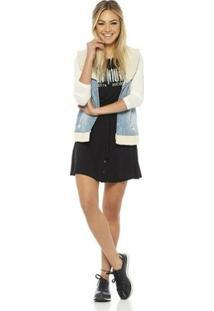 Colete Feminino Sly Wear Jeans - Feminino